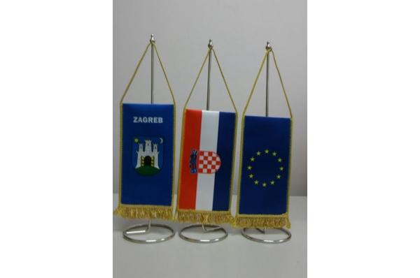 stolne zastvice / Table flags