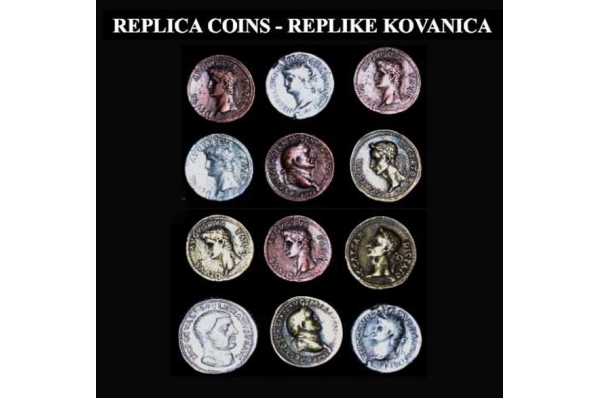 dioklecijanovi novčići, replika /Old Coins, replica