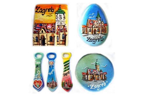 kramički magneti /Fridge magnets, various motifs and shapes