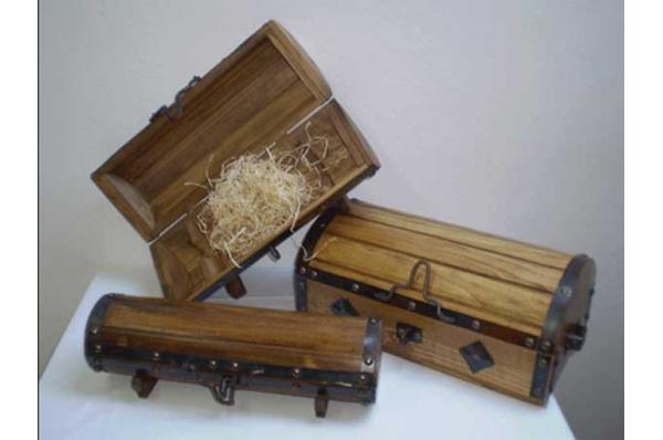 piratske škrinje / Pirate's wooden box