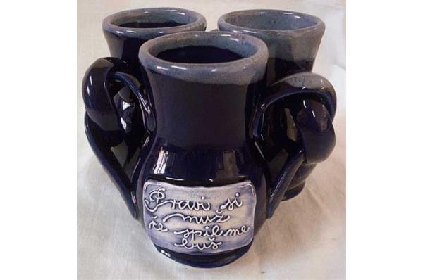 vrč za vino -bilikum / Ceramic Wine Jug-Bilikum