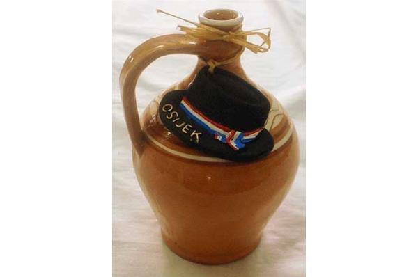 keramička etno stucka / Etno stucka (Wine Jug),ceramics