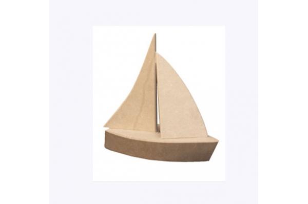 kamena jedrilica,sviječnjak / Stone Sailboat, candle holder