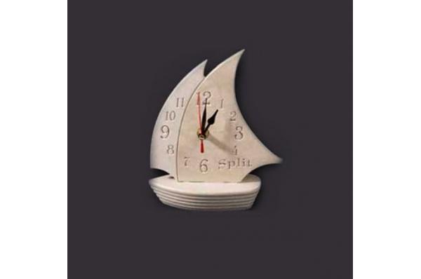 kamena jedrilica sa satom /Stone Sailboat with a Clock / other forms