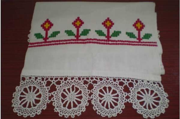 peškir, domaće pamućno tkanje / Towel (Peškir)