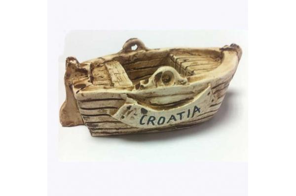 keramička barkica-Croatia/ Ceramic Boat (barka)-Croatia