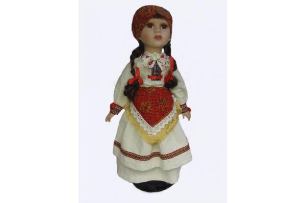 unikatna lutka, sestine /The dolls in Croatian folk costumes  (šestine)gorje)