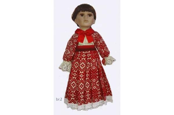 unikatna lutka, prigorje /The dolls in Croatian folk costumes  (prigorje)