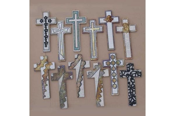 keramički križevi, unikat / Ceramic Cross, unique