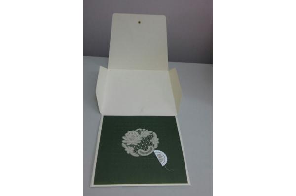 lepoglavska čipka u ovitku / Lepoglava Lace in a cardboard