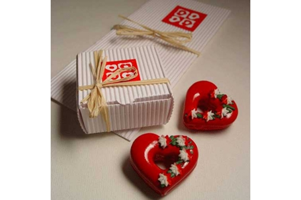 licitar konfeta, u bijeloj kutiji / Licitar weding confetti