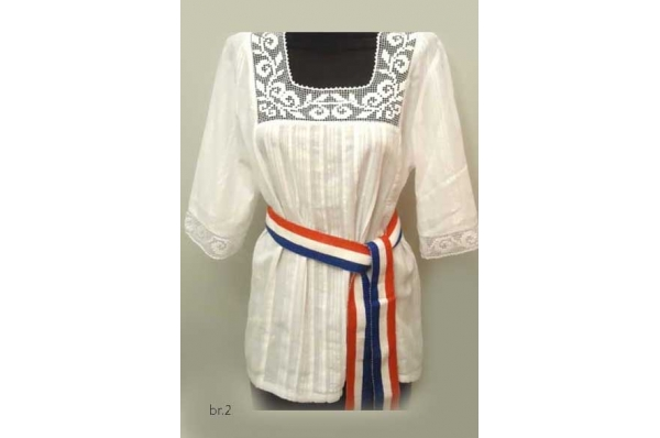 tunika od domaćeg platna/ Woman's tunic, domestic cloth