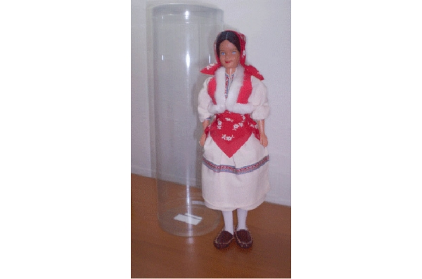 lutka, šestinčanka 28 cm / setincanka doll 28cm