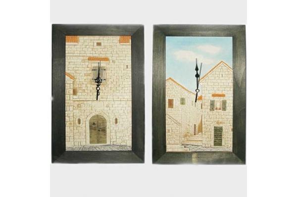 zidni sat,reljef portala / Wall clock, relif portals