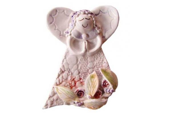 keramički anđeo 12 cm /Wall Angels 12 cm