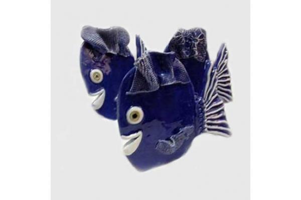 keramička ribica, mala figurica /Figurine, fish
