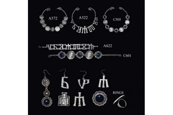 nakit-andautonija i glagoljica /Women's jewelry-Andautonia