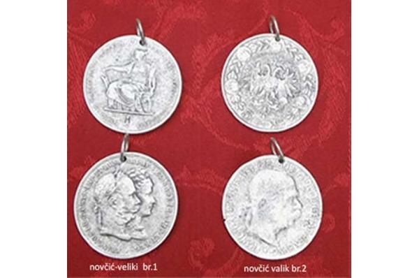 novcici Marije Terezije i Franje Josipa  /Old Coins, replica            , replika