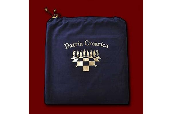 hrvatski šah, plišana vrečica /Croatian Chess set