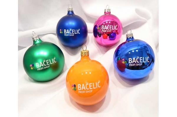 staklene kuglice za bor /Christmas tree decorations, glass balls