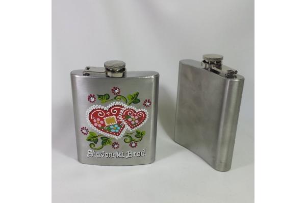 metalna ploska /Metal Hip Flask