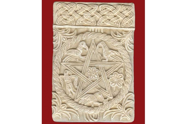plutej s motivom pentagrama / Pluteus With Pentagram