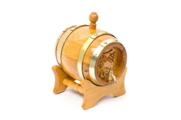 drvena bačvica /Woden  Brandy Barrel