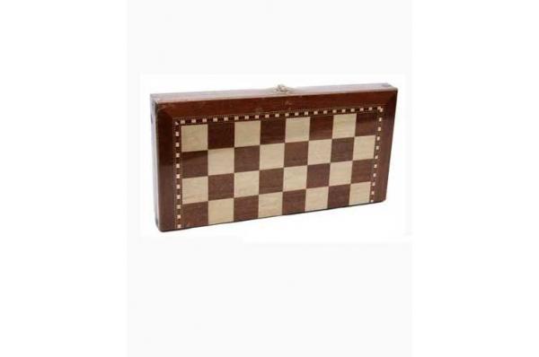 drveni šah, glat /Wooden Chess Set-smooth)