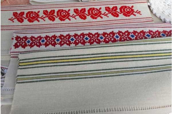 laneni ručnici, domaće platno /Flax Towels