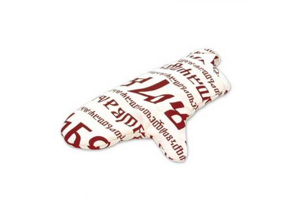 termo rukavica , glagoljica /Kitchen glove, glagolitic