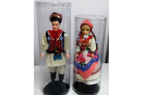 lutke, par šestinčana / The dolls in Šestine folk costumes 28-33cm