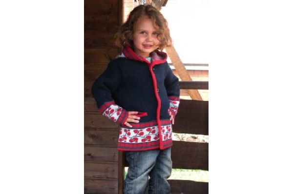slavonska jakna za djevojčice / Slavonian jacket - špenzle