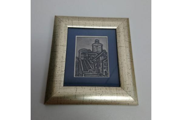 zidna slika,zagrebačka uspinjača / Wall picture - Zagreb funicular