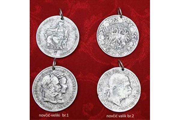 replika starpg au novčića,posrebren /Old Coins, replica silvered