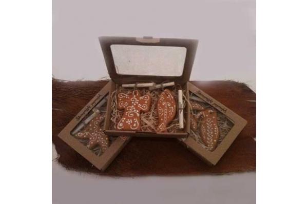starogrojski paprenjak , 2 ukrasa /Starogrojski paprenjak, 2 decorations