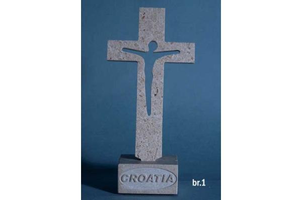stolni križ, brački kamen /Table cross