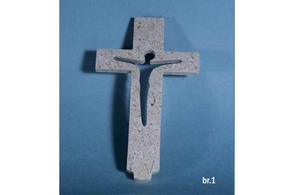 zidni križ, brački kamen / Wall Cross