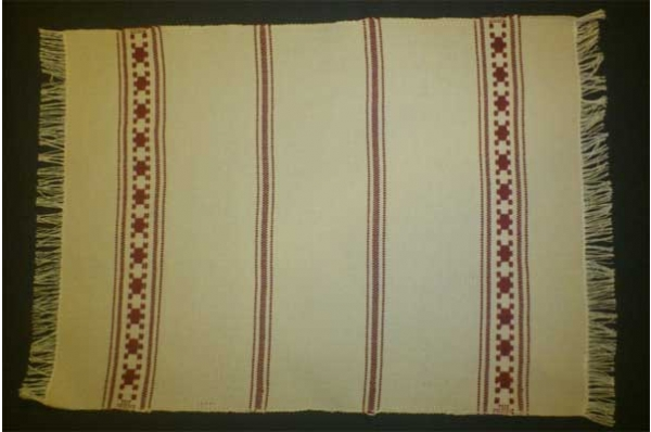 nadstolnjak, domaće pamučno platno / Table Runner, domestic cloth