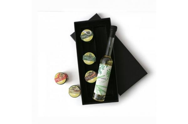 slani duo s travaricom rakijom / Duo Salty Package with herb brandy