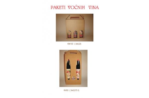 vočno vino u kutiji / Fruite wine in a cardboard box