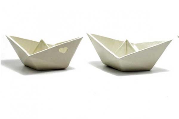 keramički brodić 17cm / Ceramic Boat  17cm