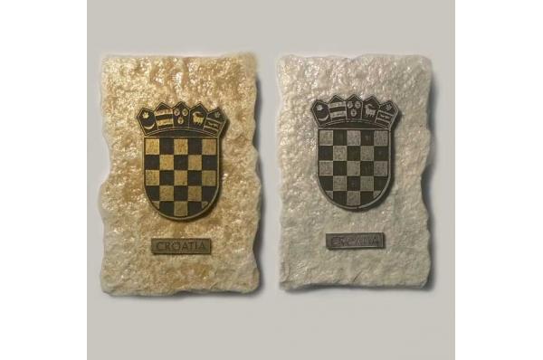 magnet, hrvatski grb / fridge magnet-croatian coat of arms
