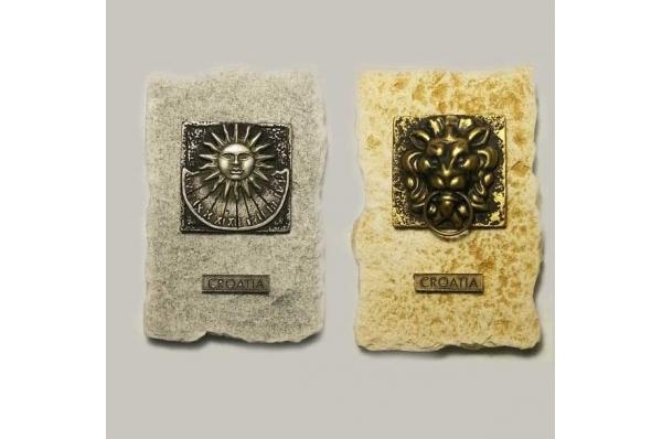 magnet, motivi s građevina /fridge magnet -buildings
