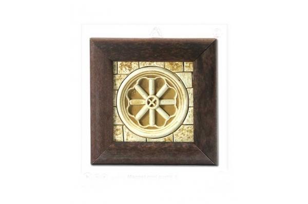 magnet, zidni reljef / framde fridge magnets-wall relief