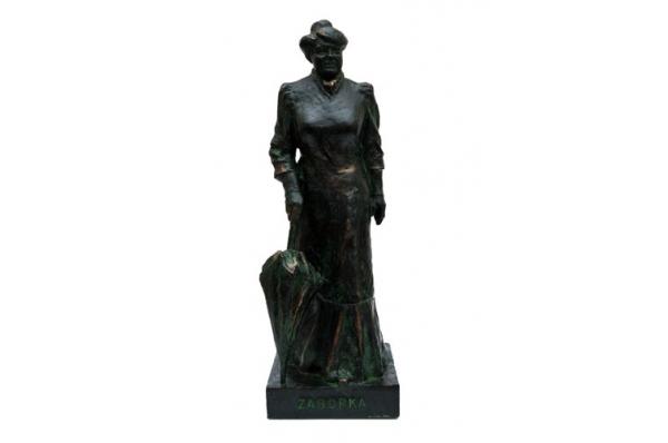 skulptura Marije Jurić Zagorka/ Sculpture Marija Jurić Zagorka
