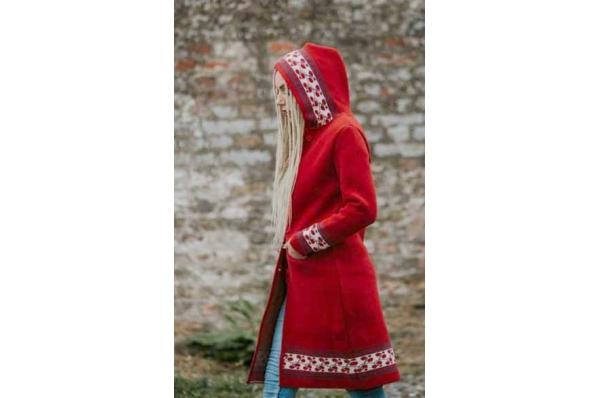 ženski vuneni kaput / woman's woolen coat